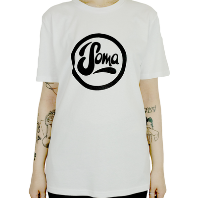 White With Black Soma Logo