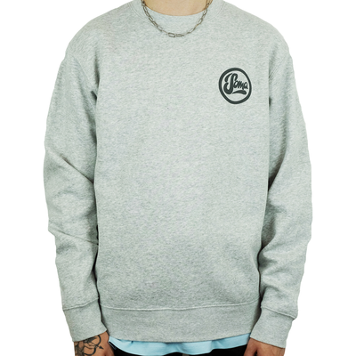Light Grey Sweatshirt with Grey Logo