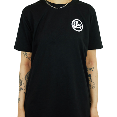 *NEW* Black with Small White Logo
