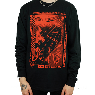 NEW! Archive Edits Long Sleeve T-Shirt LTD Edition