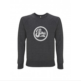 Dark Grey Sweatshirt with Light Grey Logo