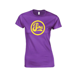 Ladies Purple with Yellow Logo
