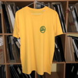 *NEW* Yellow with Small Green Logo