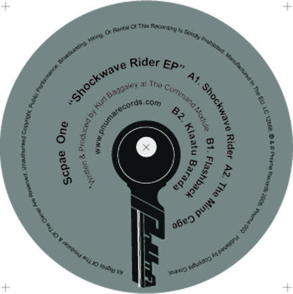 Shockwave Rider EP cover
