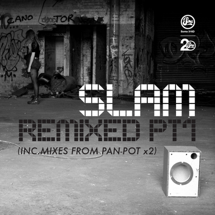 Slam Remixed pt 1 cover
